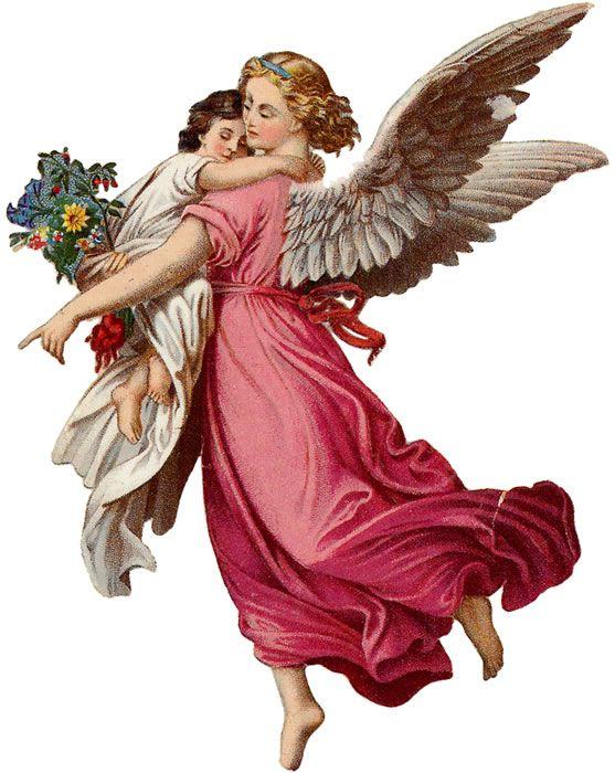 Ангелочки на открытках