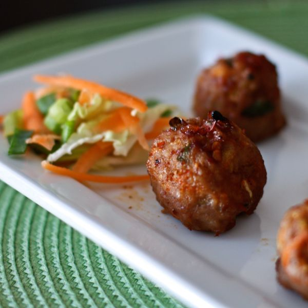 Asian-Meatballs | Asian Eats | Pinterest