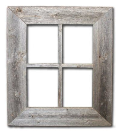 Wooden Window Frame Wall Decor : Rustic wooden window frame wall decor basement