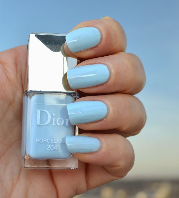 Color Me Loud: Dior Vernis #204 Porcelaine and #457 Bouquet from Trianon Collection for Spring 2014, Swatch & Comparison