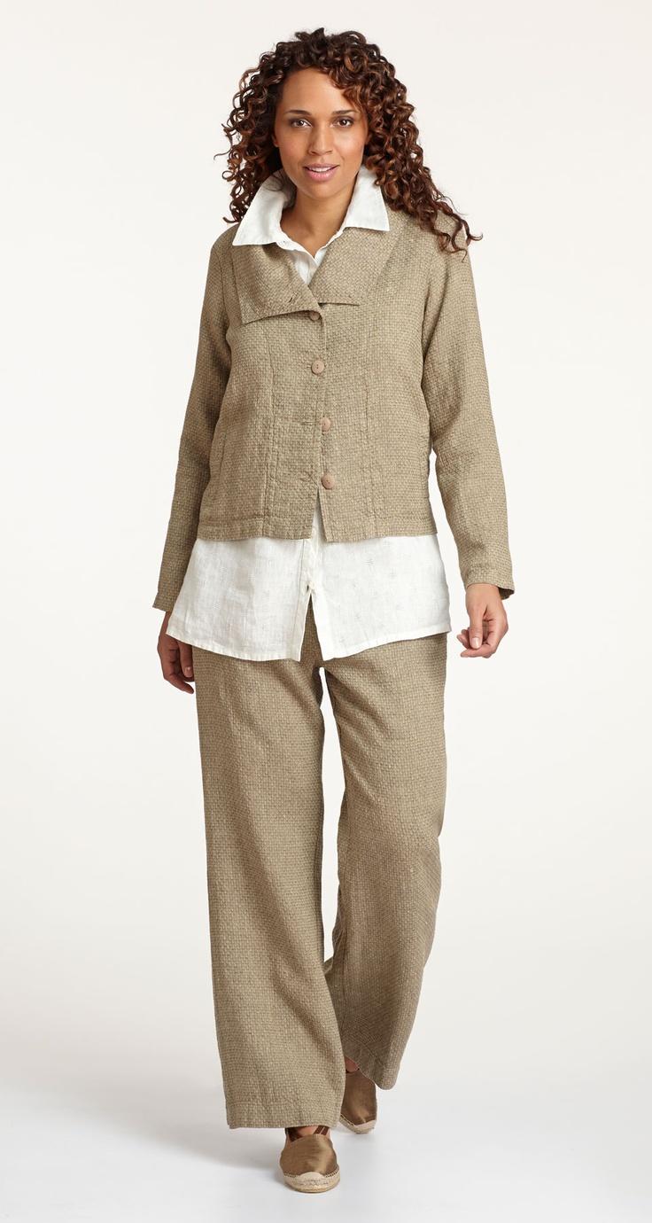 Flax Traveler 2013 Adaptable Caper, Bias Back Shirt & Zipped Bootleg