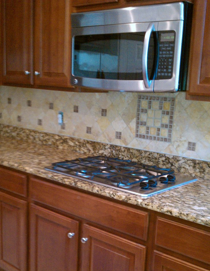Kitchen backsplash our creative work pinterest Kitchen backsplash ideas bhg