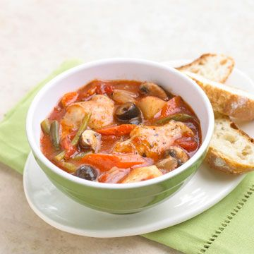French Chicken Stew (slow cooker)