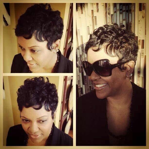 Short curls   hair   Pinterest