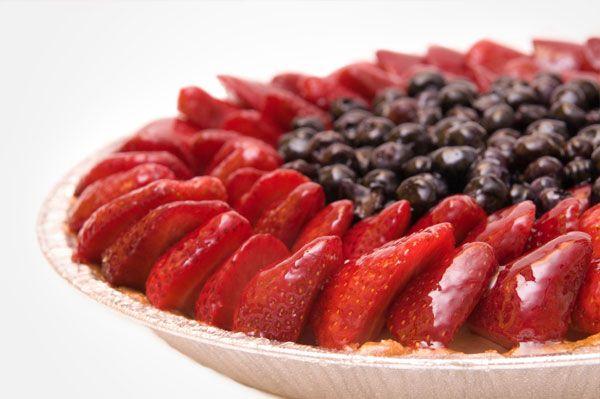 Strawberry-Blueberry Pie Recipe   PIES,TARTS, POP TARTS   Pinterest