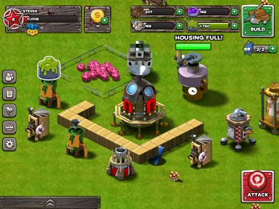 backyard monsters unleashed ios game like clash of clans