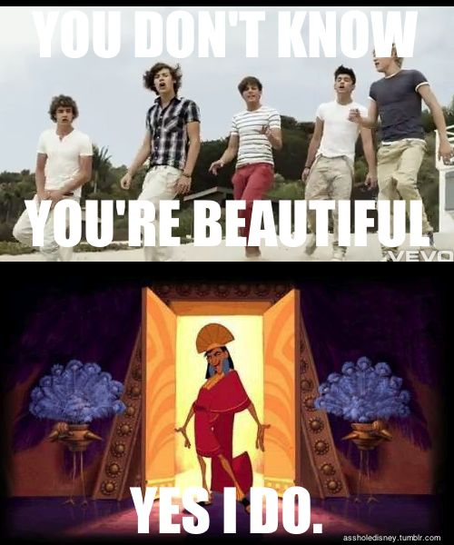 One direction/emperor's new groove