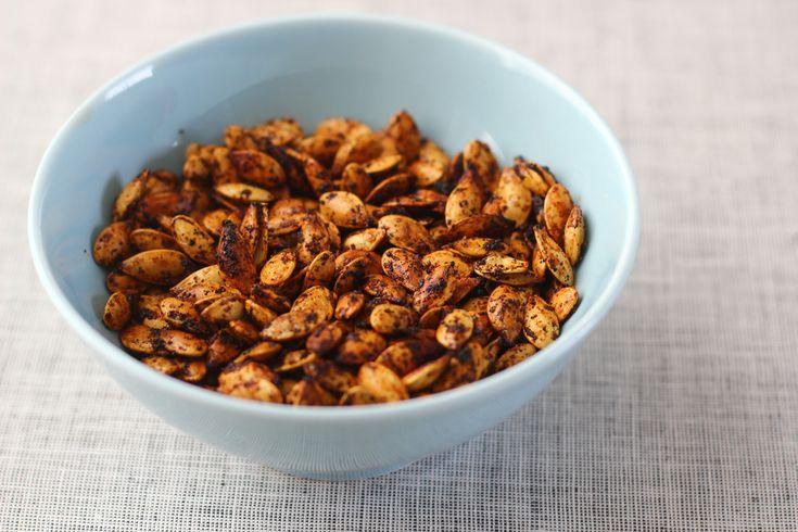 Spiced Roasted Pumpkin Seeds | For Jan | Pinterest