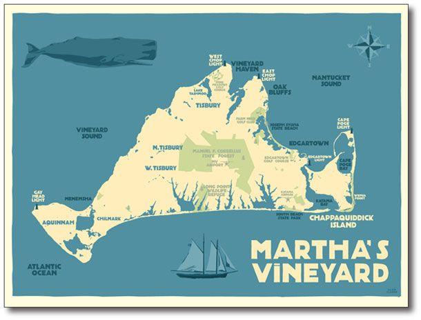 Martha S Vineyard Graphic Design