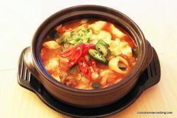 Korean Bean Curd (Miso) Soup Recipe — Dishmaps