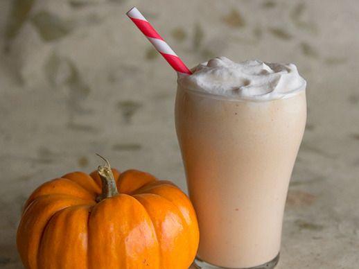 Pumpkin Bourbon Cider Milkshake | Recipe