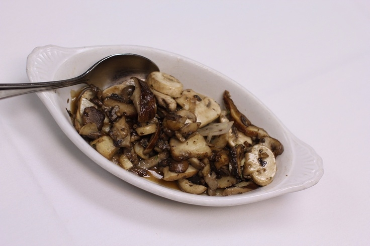 Sautéed Mushrooms with fresh herbs & garlic at The Saucon Valley ...