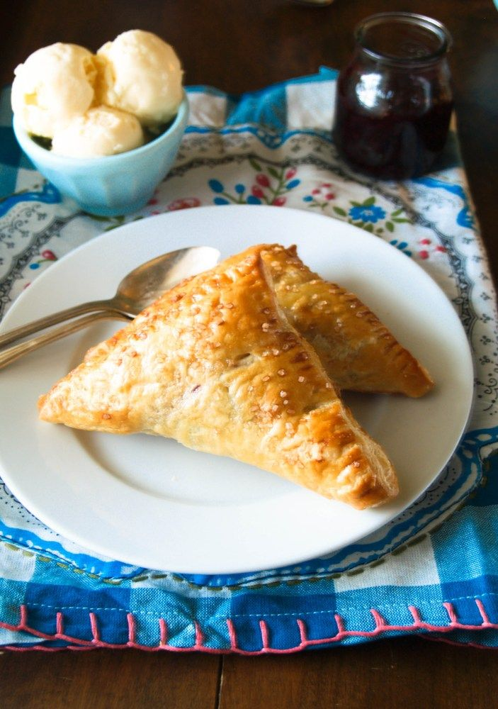 Blackberry Turnovers | Donuts, Holes & Turnovers | Pinterest