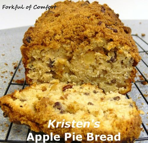Kristen's Apple Pie Bread | Recipe Devil | Food | Pinterest