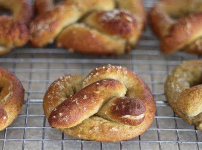 Gluten-Free soft pretzels | //gluten-free goodness// | Pinterest