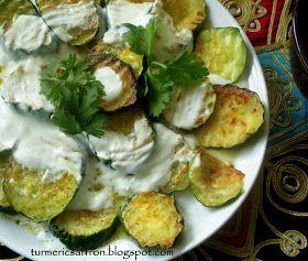 Yogurt and Zucchini Salad   Food and Drink   Pinterest