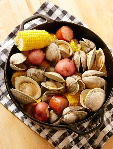 bring the clambake into your kitchen with giada s stove top version