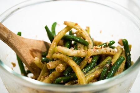 Green Bean and Hazelnut Salad Recipe | Food | Pinterest