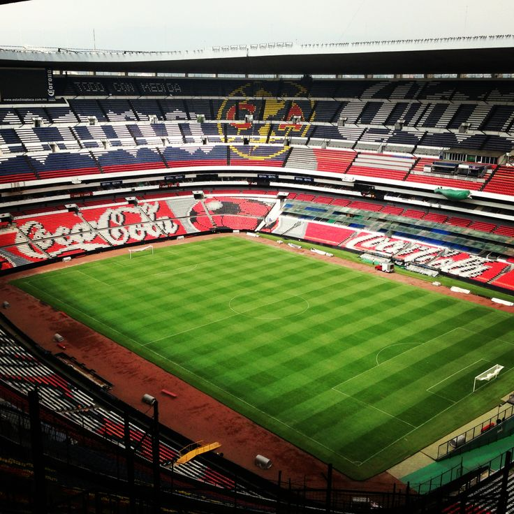 Estadio azteca futbol pinterest for Puerta 1 estadio azteca