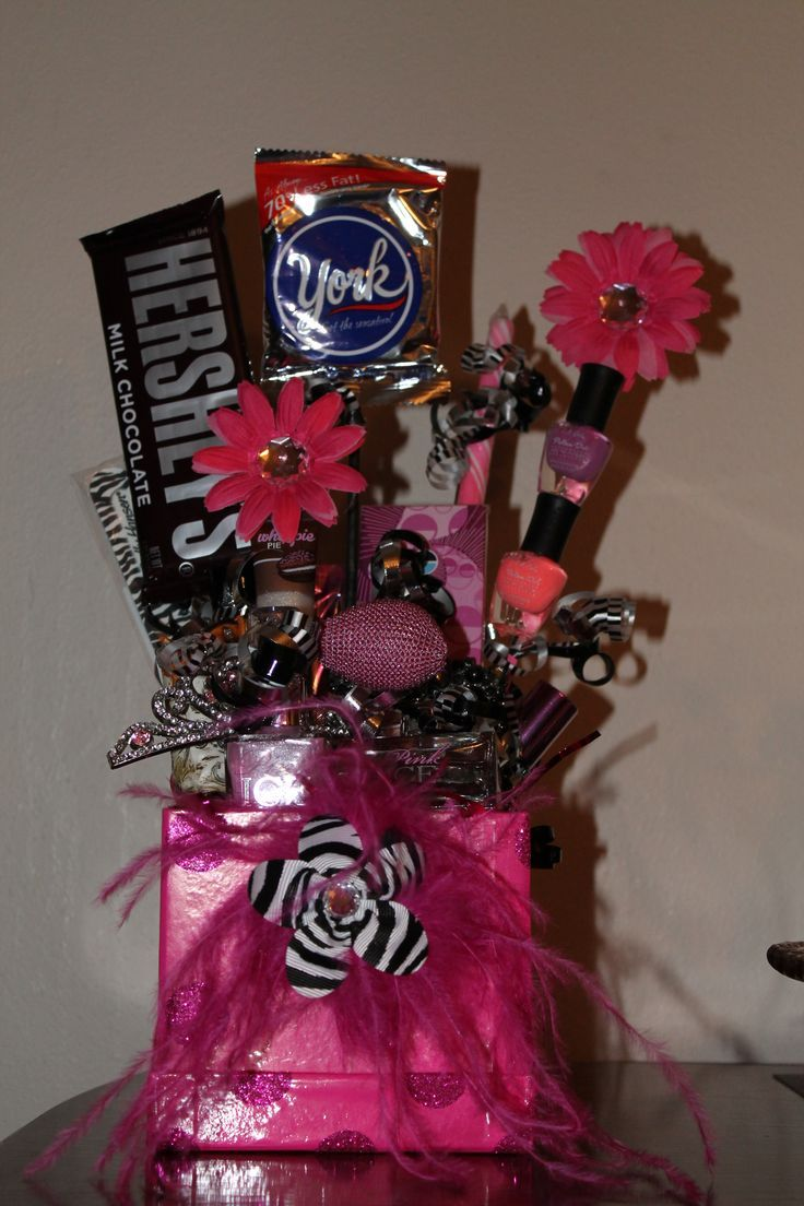 Teen Birthday Gift Basket | My Projects