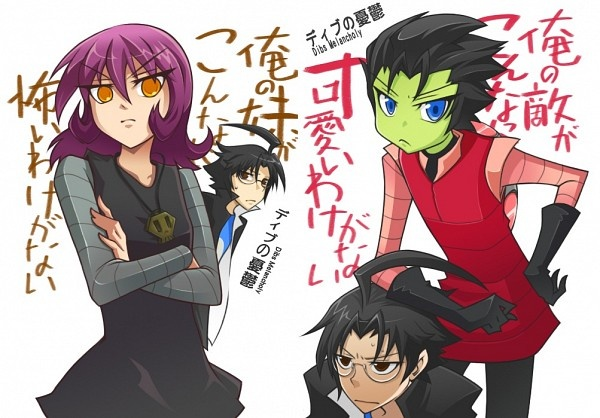 ve heard invader zim called an anime but it s not drawn that way    Zim And Gaz Anime