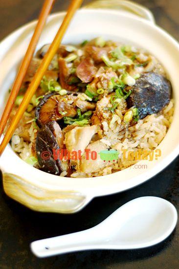 ... claypot chicken rice recipe without claypot claypot chicken rice