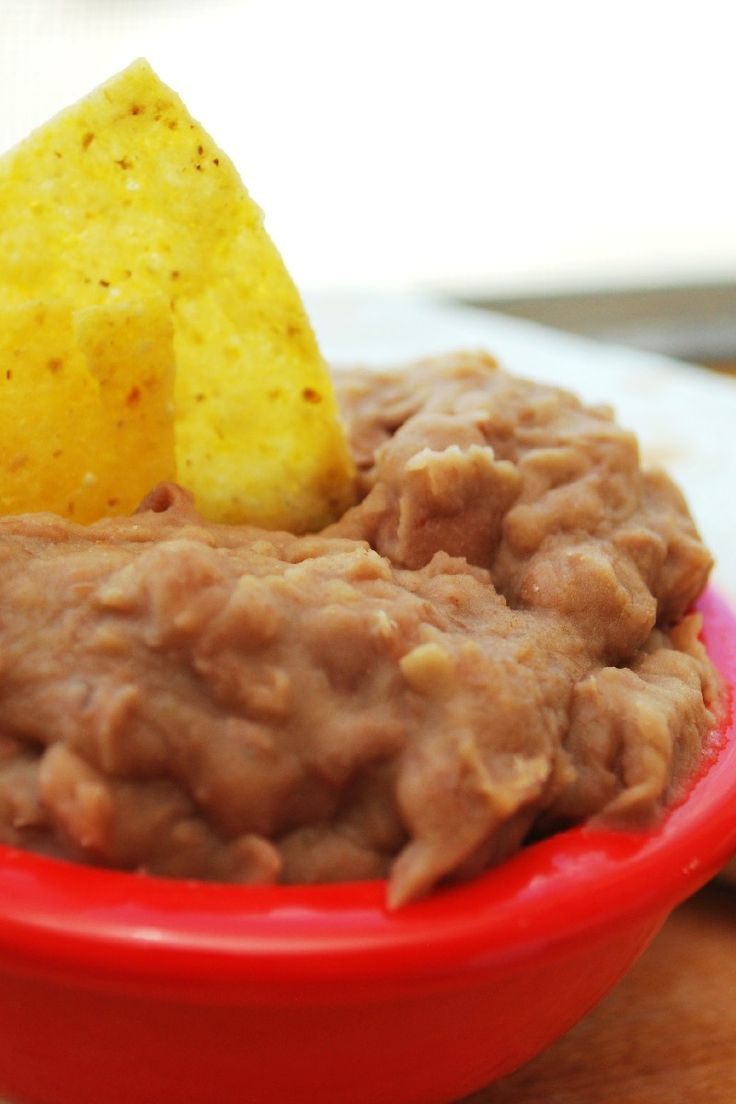 Slow Cooker Refried Beans without the Refry Recipe