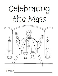 Celebrating the mass coloring book pray and learn the for Catholic mass coloring pages