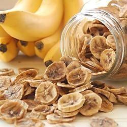 Dried Banana Coins | HEALTHY GRUB | Pinterest