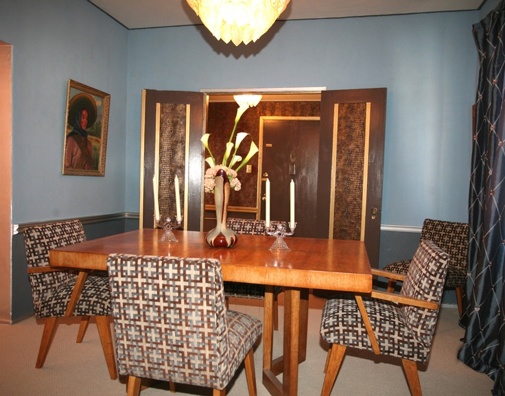 elegant art deco inspired dining room 2 deco delights pinterest