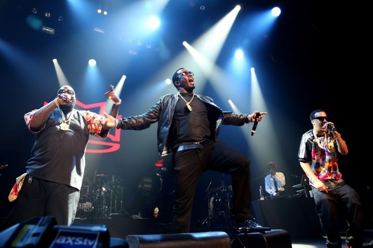 """Rick Ross, Sean """"Diddy"""" Combs And French Montana 