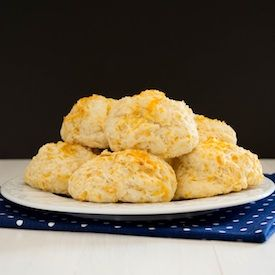 Cheddar Buttermilk Biscuits...tender and speckled with delicious sharp ...