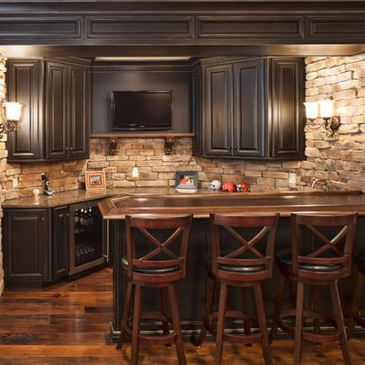 basement bar area for the home pinterest