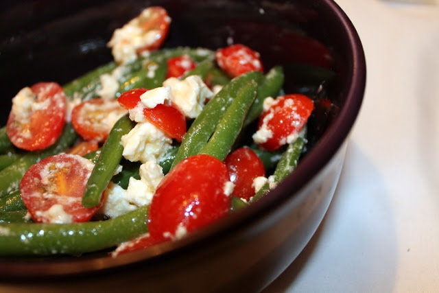 Green Bean, Tomato, and Feta Salad. | Not Your Average Foodie | Pinte ...