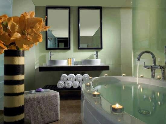 tranquil bathroom for the home pinterest