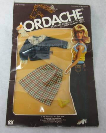 Jordache Fashion Doll Outfit Retro 1970s Mego 198