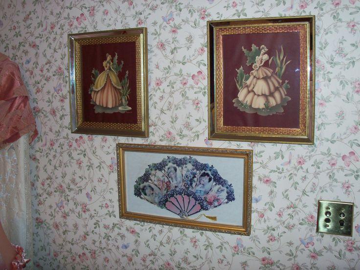 Hallway Wall Decor Vintage Decor Pinterest