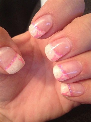 breast cancer nails - Nail Art Gallery by NAILS Magazine
