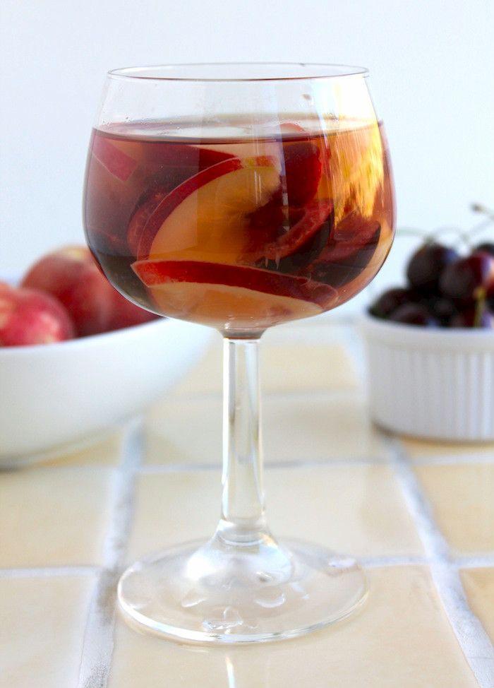 Stone Fruit Sangria | Drinks!!!!! | Pinterest