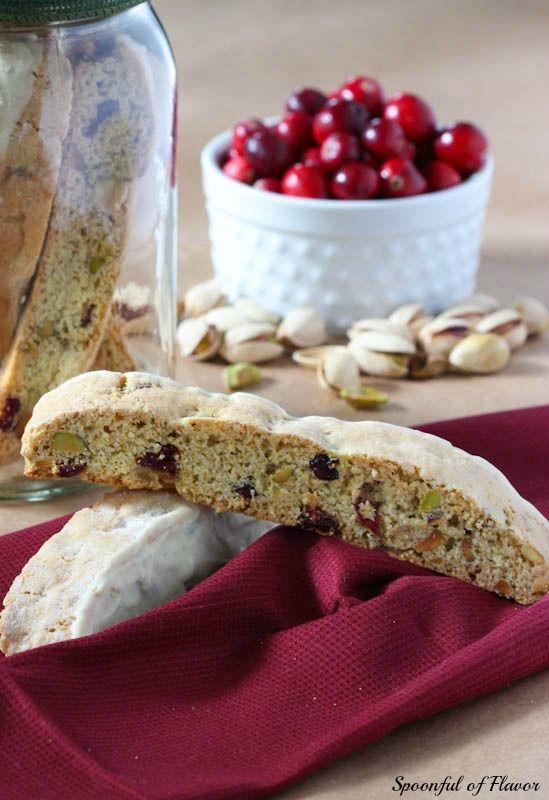 Cranberry Pistachio Biscotti | Recipe