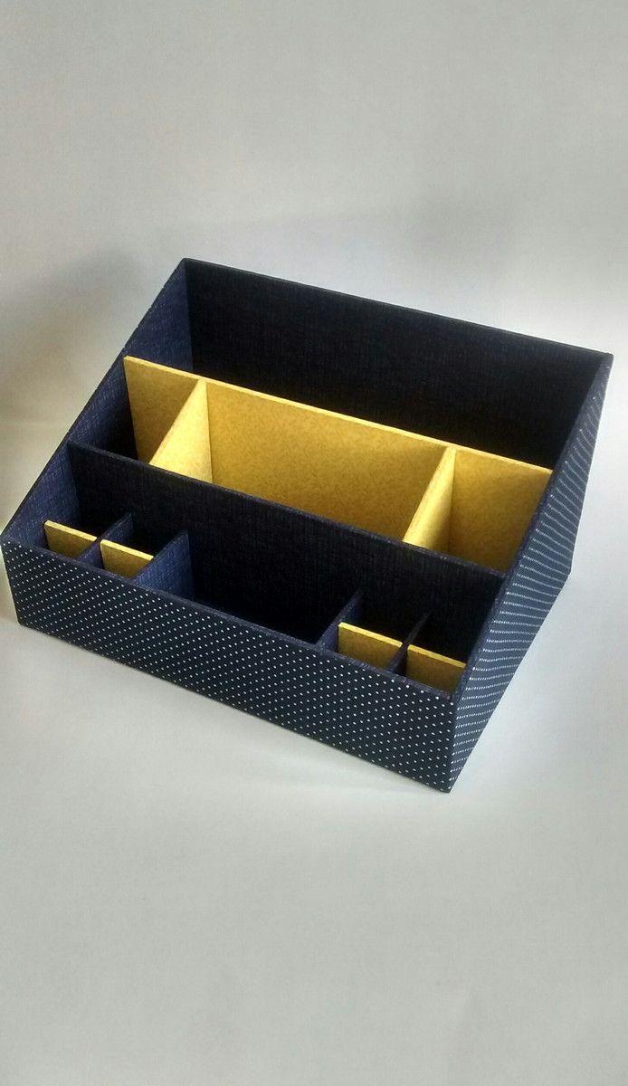 Офисный органайзер из картона своими руками 69