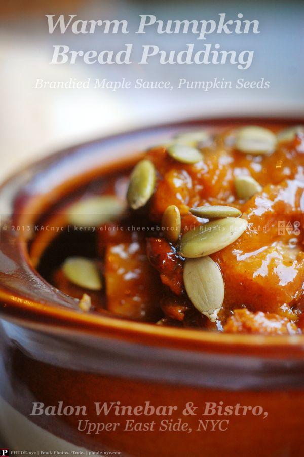 Warm Maple And Cinnamon Bread Pudding Recipe — Dishmaps