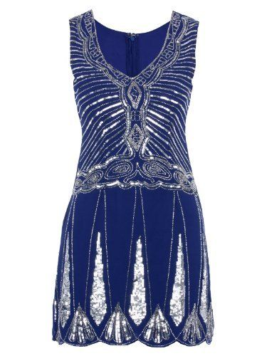 Blue great gatsby dress my style pinterest
