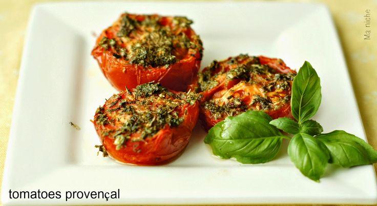 Ma Niche: Tomatoes Provençal (Baked Tomatoes)