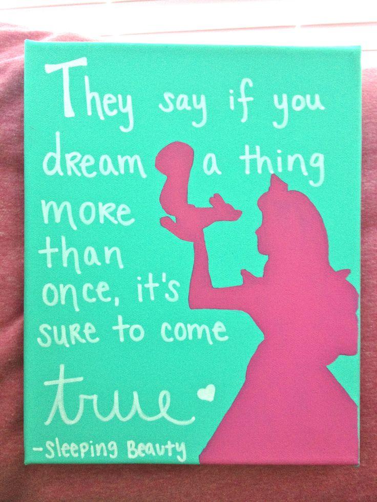 disney quotes canvas quotesgram