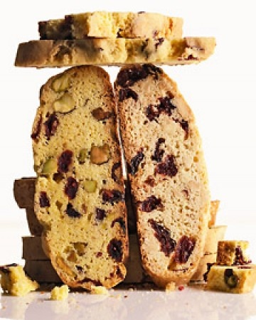Cranberry Pistachio Cornmeal Biscotti - BRING ME COFFEE!! (And I don't ...