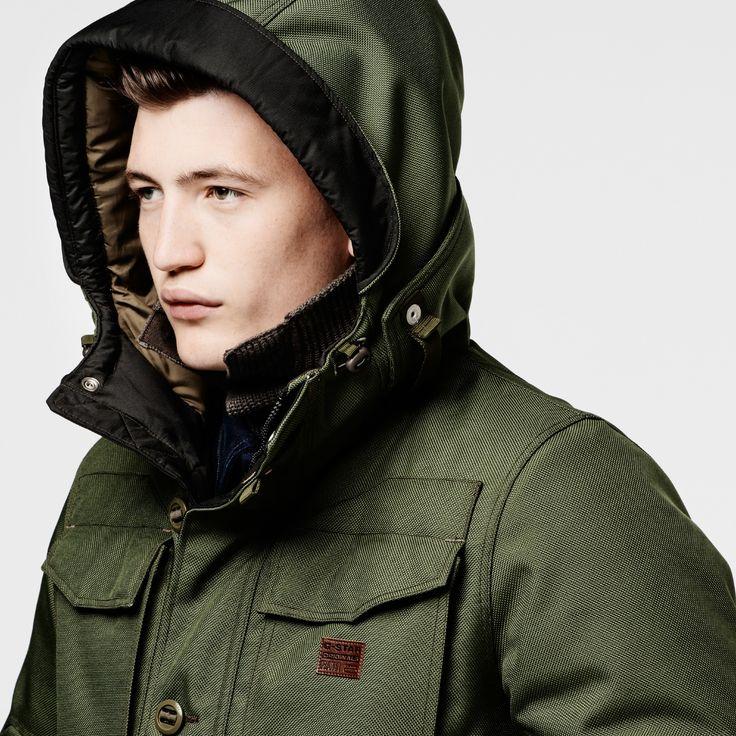 mfd hdd parka men jackets g star men style pinterest. Black Bedroom Furniture Sets. Home Design Ideas