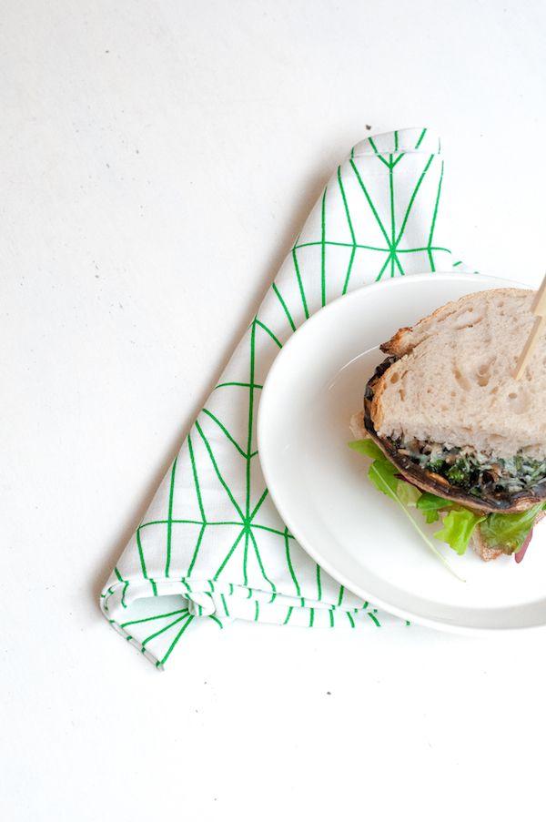 April and May| portobello cheeseburger | APRIL AND MAY | FOOD | Pinte ...