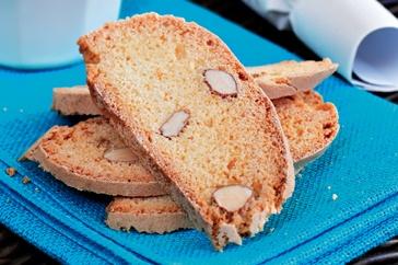 Orange & almond biscotti | Biscuits, Brownies & Slices | Pinterest
