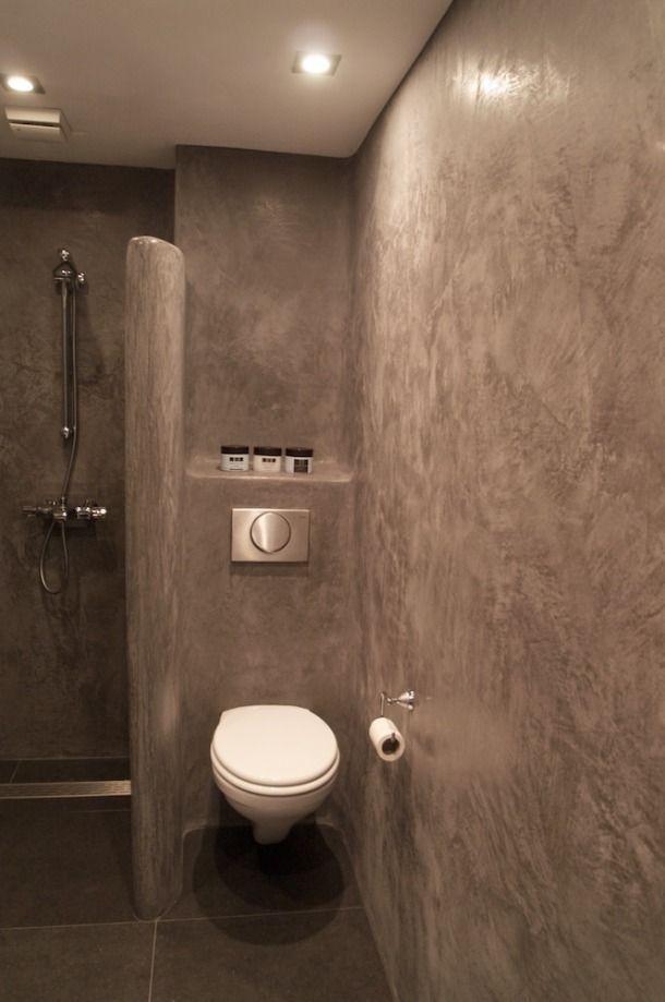badkamer tadelakt 4 jpg  huis idee?n  Pinterest~ Leemstuc In Badkamer